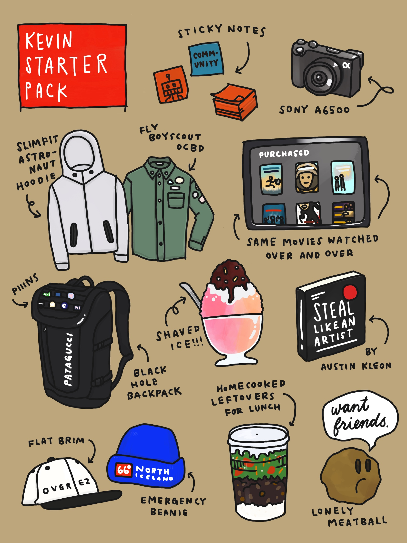 Kevin's starter pack